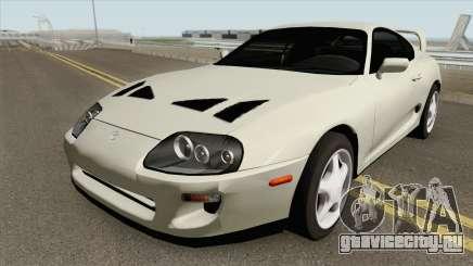 Toyota Supra Mk IV Fully Tunable FNF Style 1994 для GTA San Andreas