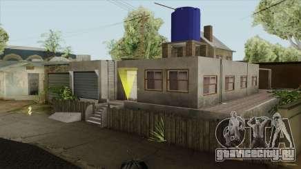 Carl New Home In Ganton для GTA San Andreas
