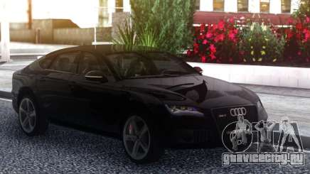 Audi Rs7 Black Edition для GTA San Andreas