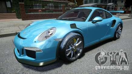 Porsche 911 GT3 RS 2016 для GTA 4