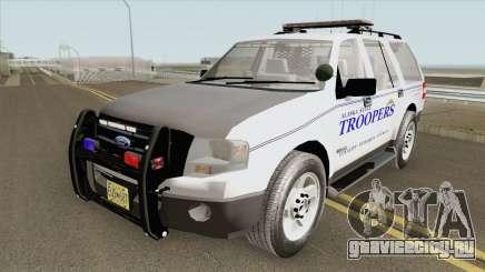 Ford Expedition 2008 (Alaska State Trooper) для GTA San Andreas