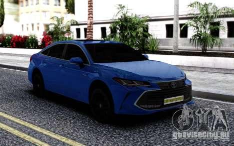 Toyota Avalon для GTA San Andreas