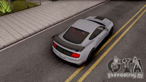 Ford Mustang Shelby GT500 2019 для GTA San Andreas