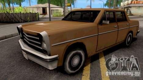 Declasse Asea v3 для GTA San Andreas