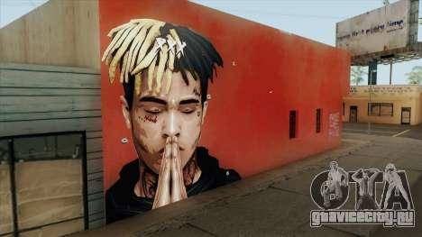 XXXTentacion Wall для GTA San Andreas