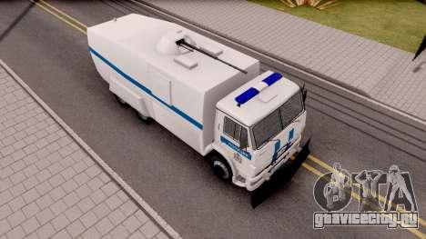 КамАЗ 65116 Полиция для GTA San Andreas