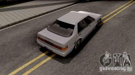 GTA IV Dinka Hakumai IVF для GTA San Andreas