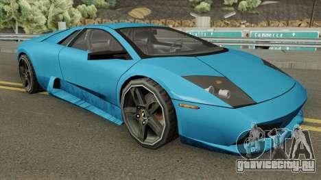 Lamborghini Murcielago 2008 (SA Style) для GTA San Andreas