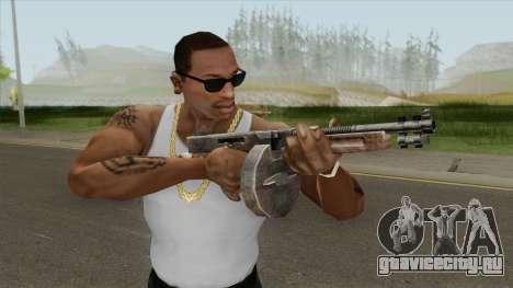 Chicago Typewriter Drum (Resident Evil 4) для GTA San Andreas