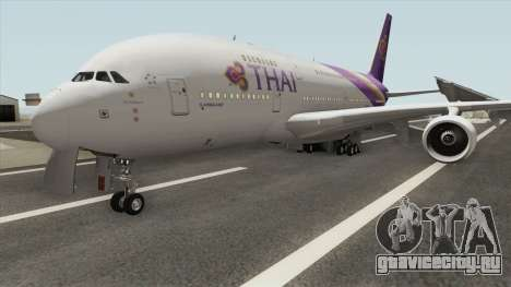 Airbus A380-800 (Thai Airways Livery) для GTA San Andreas