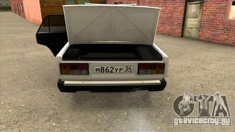ВАЗ 2107 Сток для GTA San Andreas