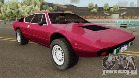Lamborghini Urraco для GTA San Andreas