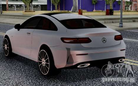 Mercedes-Benz E63 Coupe 2018 FIX для GTA San Andreas