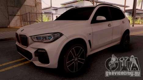 BMW X5M 30d Design для GTA San Andreas