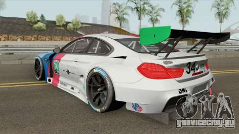 BMW M6 GT3 2018 для GTA San Andreas