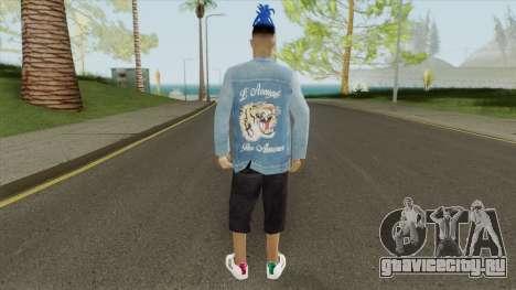 XXXTentacion Skin V1 для GTA San Andreas