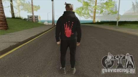 XXXTentacion V1 для GTA San Andreas