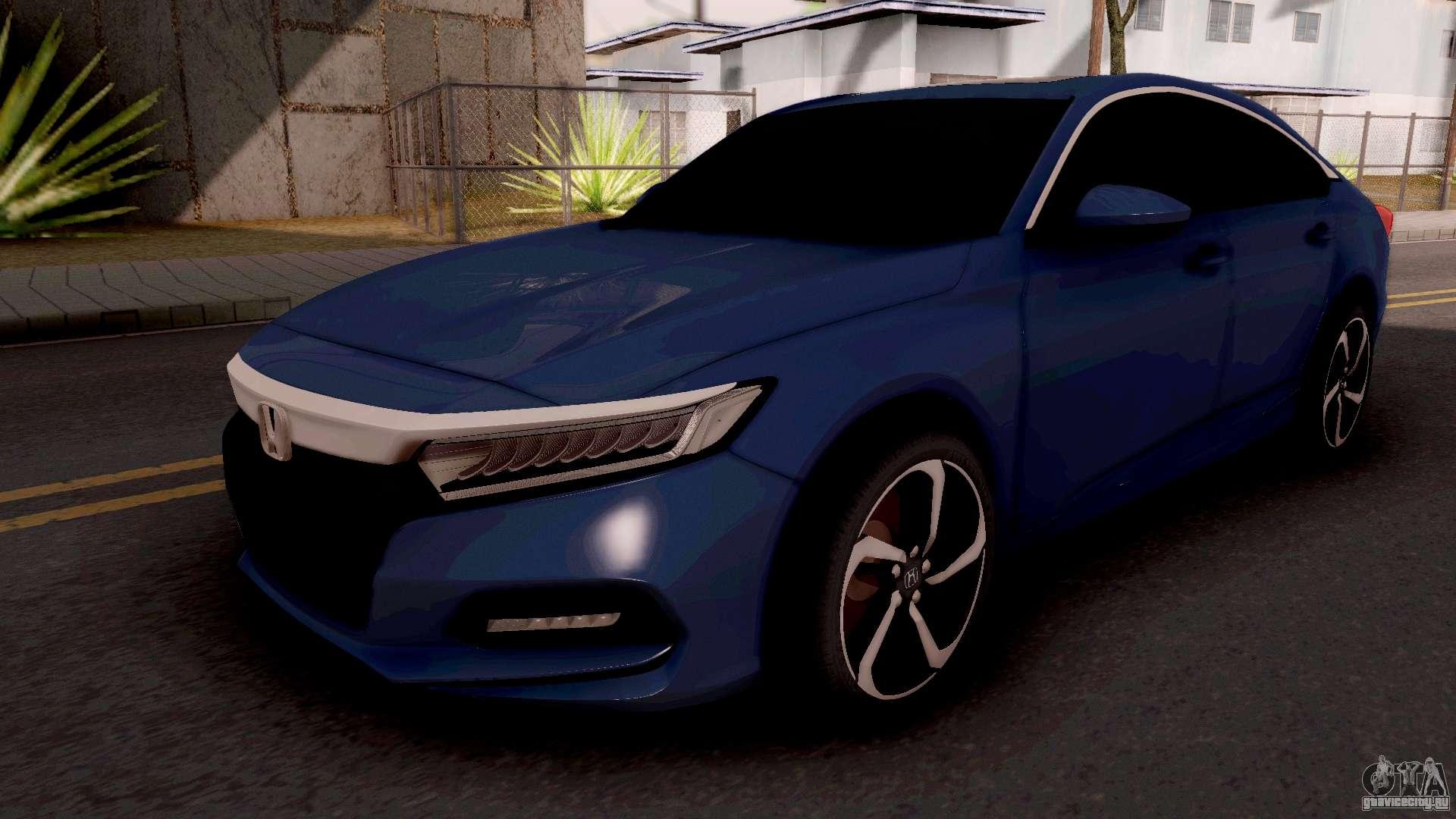 Honda Accord Sport >> Honda Accord 2019 Sport для GTA San Andreas