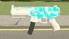 Submachine Gun MK2 (Ice) для GTA San Andreas