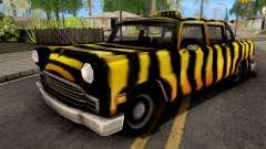 Zebra Cab GTA VC для GTA San Andreas