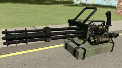 Minigun HQ для GTA San Andreas