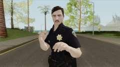 GTA Online Random Skin 18 SFPD Officer для GTA San Andreas