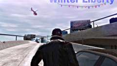 Winter Liberty V2 для GTA 4