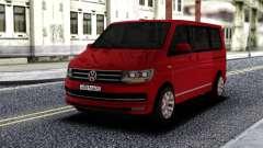 Volkswagen Caravelle Red для GTA San Andreas