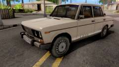 ВАЗ-2106 White для GTA San Andreas