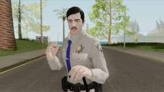 GTA Online Random Skin 16 SAHP Officer для GTA San Andreas