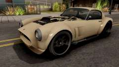 Declasse Mamba GTA V VehFuncs Style для GTA San Andreas