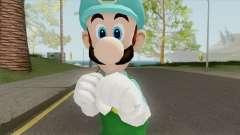 Luigi De Hielo (New Super Mario Bros) для GTA San Andreas