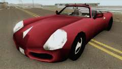 Stinger GTA III для GTA San Andreas