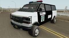 Declasse Burrito Police Transport R.P.D IVF для GTA San Andreas