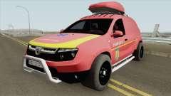 Dacia Duster - Pompierii 2010 для GTA San Andreas