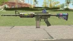 M4 (Ticket Skin) для GTA San Andreas