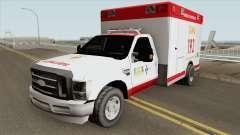 Ford F-4000 Samu LowPoly для GTA San Andreas
