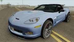 Chevrolet Corvette ZR1 2010 Spyder для GTA San Andreas