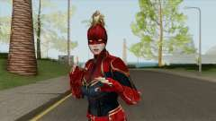 Captain Marvel From Movie In Mask для GTA San Andreas