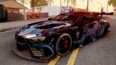 BMW M8 GTE Itasha Prinz Eugen для GTA San Andreas
