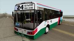 Linea 24 Todobus Pompeya II Agrale MT15 Interno для GTA San Andreas