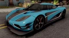 Koenigsegg One:1 2015 для GTA San Andreas