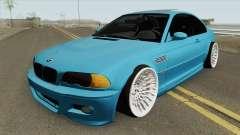 BMW E46 M3 HQ для GTA San Andreas