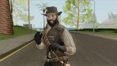 John Marston With Beard для GTA San Andreas