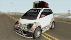 Benefactor Panto GTA V (SA Style) для GTA San Andreas