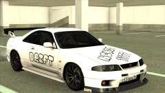 Nissan Skyline GTR 33