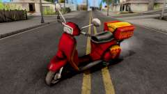 Pizzaboy GTA VC для GTA San Andreas