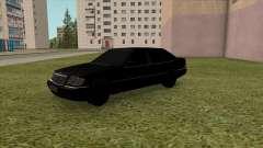 Mercedes-Benz S600 W140 90s для GTA San Andreas