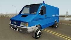 Zastava Daily 35B Yugoslavia Police для GTA San Andreas