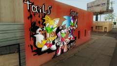 Sonic Wall Graffiti для GTA San Andreas